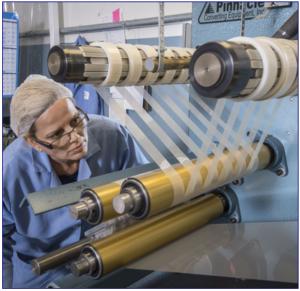 QDP Solves Tight Tolerance Film Slitting With Custom Designed Cutting Blades